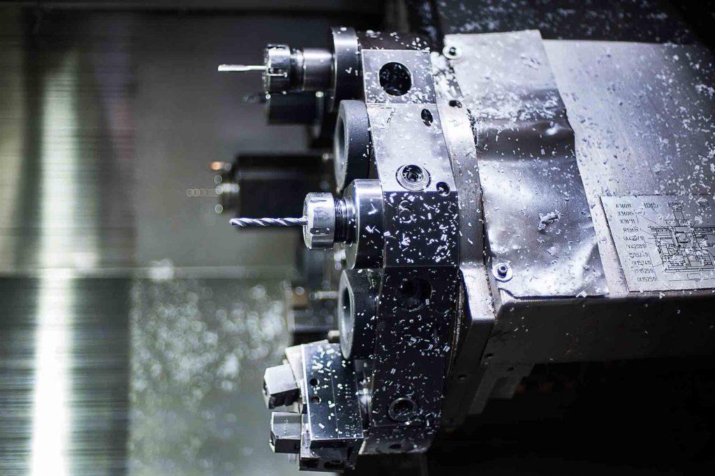 cnc lathe machinel hi technology machining concept - Mauritech tornitura e meccanica di alta precisione dal 1998