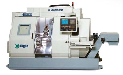 parco macchine B445S2M - Mauritech tornitura e meccanica di alta precisione dal 1998